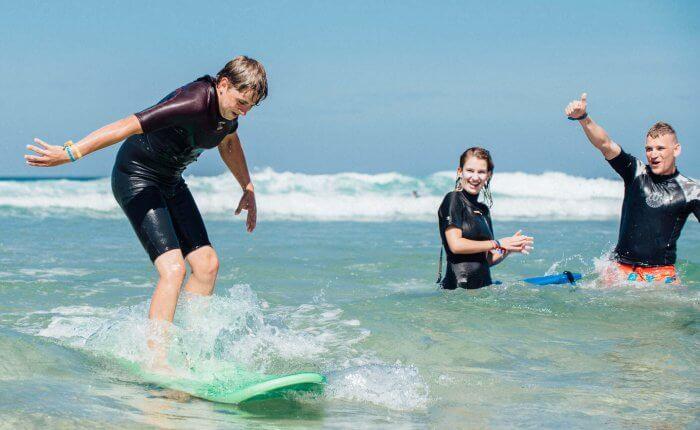 Flowtrack Familie Surfvakantie Frankrijk