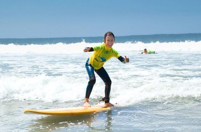 Porto vakantie surfen familie